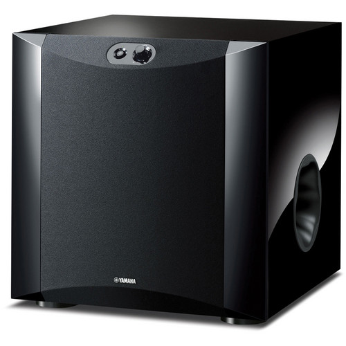 "Yamaha NS-SW300PN 10"" 250W Powered Subwoofer (Piano Black)"