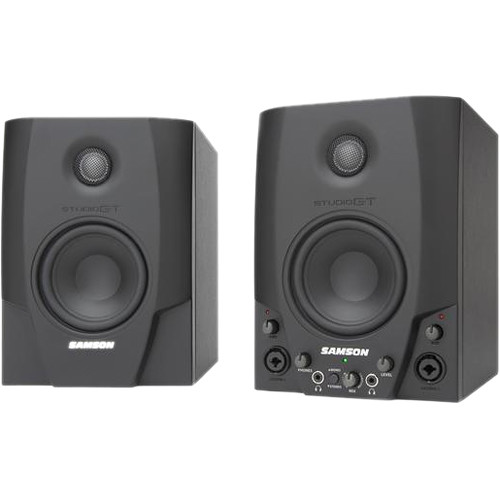 Samson Studio GT Active Nearfield USB Studio Monitors (Pair)