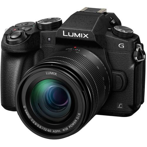 Panasonic Lumix DMC-G85 Mirrorless Digital Camera with 12-60mm Lens