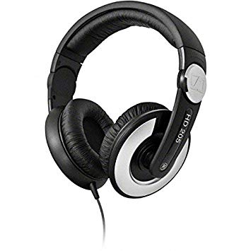 Sennheiser HD 205 II Over-Ear Stereo Headphone (Black)