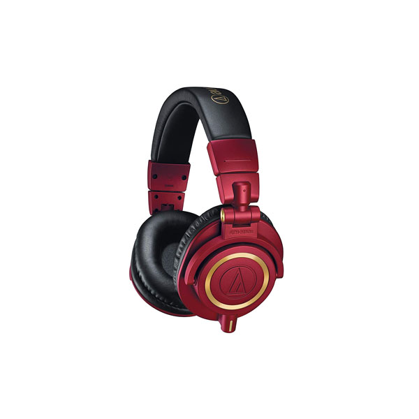 Audio-Technica ATH-M50xRD Professional Monitor Headphones (Red Limited Edition)