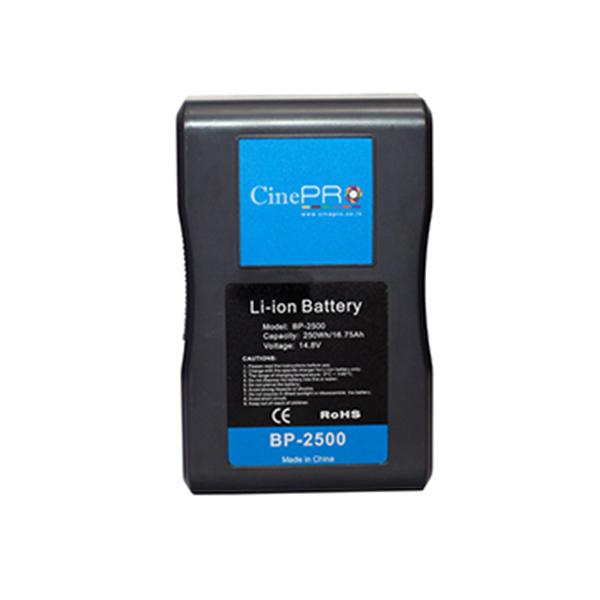 CinePRO BP-2500 Vmount Battery