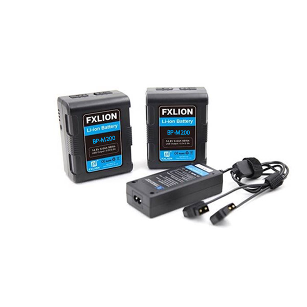 Fxlion Square V-Mount BP-M200 Battery Kit