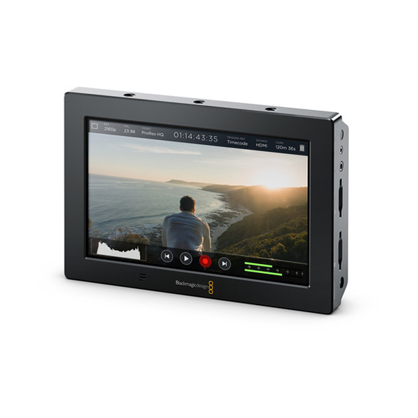 "Blackmagic Design Video Assist 4K 7"" HDMI/6G-SDI Recording Monitor"