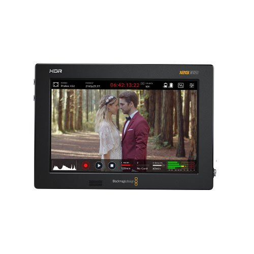 "Blackmagic Design Video Assist 7"" 12G Portable All-in-One HDR Monitor"