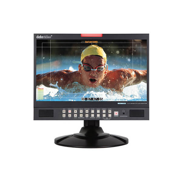 "Datavideo TLM-170G 17.3"" 3G-SDI & HDMI TFT LCD Monitor - Desktop Unit"