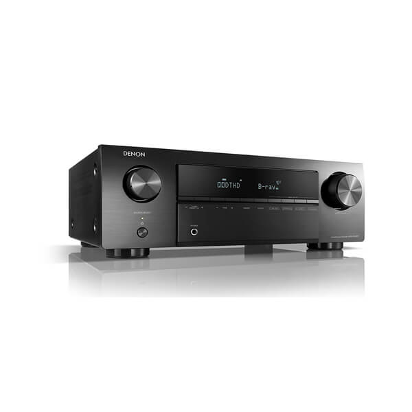 Denon AVR-X250BT 5.1 Ch. 4K Ultra HD AV Receiver with Bluetooth