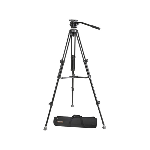 E-image EK610 Professional Tripod Stand Kit with Fluid Head