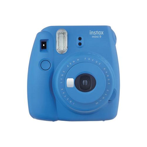 Fujifilm INSTAX Mini 9+ Instant Camera Kit (Cobalt Blue)