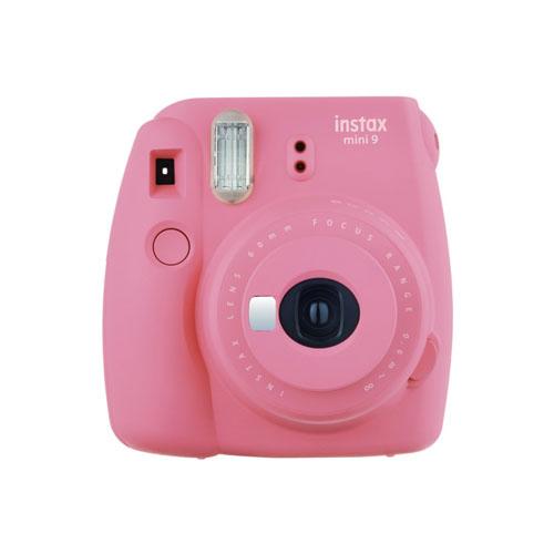 Fujifilm INSTAX Mini 9+ Instant Camera Kit (Flamingo Pink)