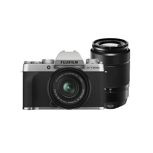 Fujifilm X-T200 Mirrorless Camera with 15-45mm & 50-230 mm Lens