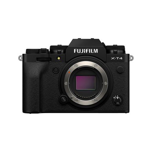 Fujifilm X-T4 Mirrorless Digital Camera Body (Black)