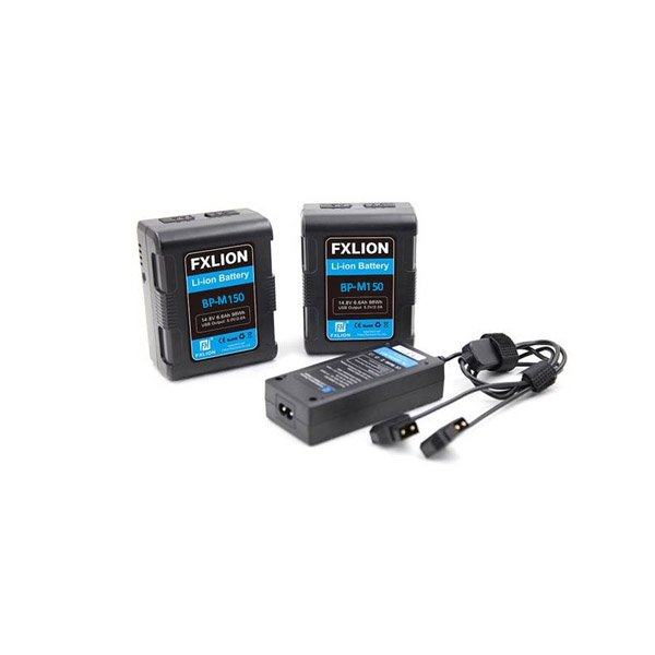 Fxlion Square V-Mount BP-M150 Battery Kit