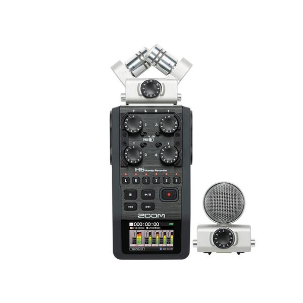 Zoom H6 6 Track Portable Digital Recorder (Discontinued)
