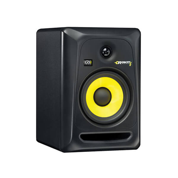 "KRK ROKIT 6 G3 - 73W 6"" Two-Way Active Studio Monitor (Black)"