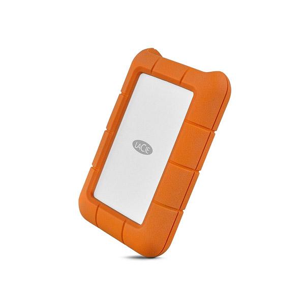 Lacie Rugged 4TB USB-C USB 3.0 Portable Hard Drive + 1mo Adobe CC All Apps (STFR4000800)