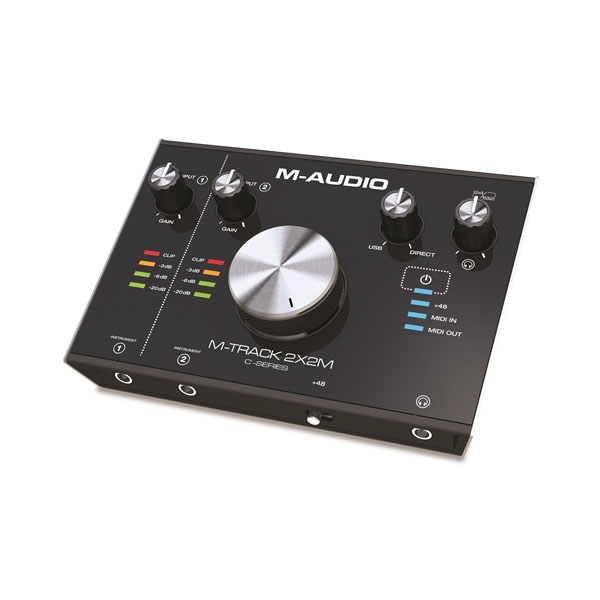 M-Audio M-Track 2X2M USB Interface with MIDI I/O