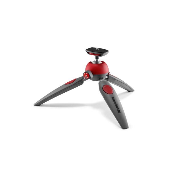 Manfrotto PIXI EVO 2-Section Mini Tripod (Red)