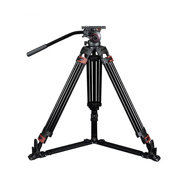 Miliboo MTT601A (Ground Level) Professional Photography 3 Sections Tripod Stand Aluminum Alloy