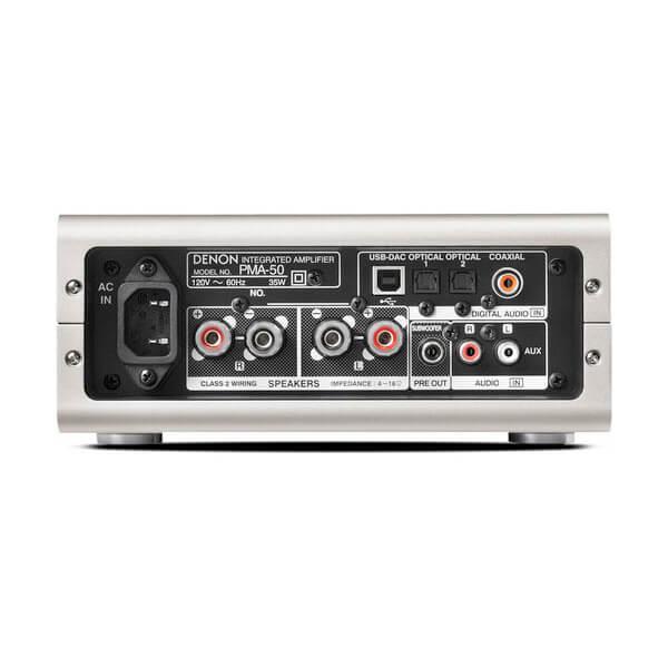 Denon PMA-50 2-Channel Digital Integrated Stereo Amplifier