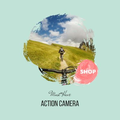 Pooja Electronics Instagram Action Camera Banner