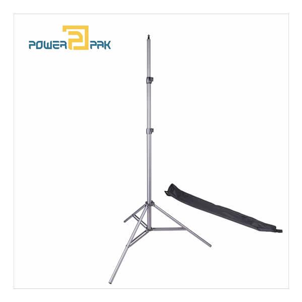 PowerPak WT-806 Light Duty Spring Aluminium Alloy Photography Light Stand