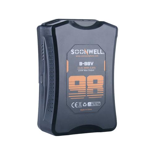 SOONWELL B98-V 98Wh 14.8V Lithium-Ion Battery (V-Mount)
