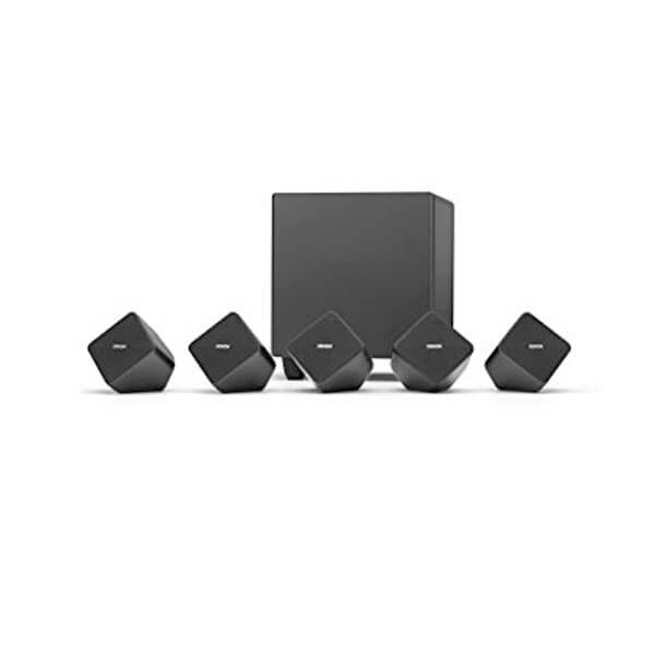 DENON SYS-2020 5.1 CH Home Theatre Speaker with Active Subwoofer