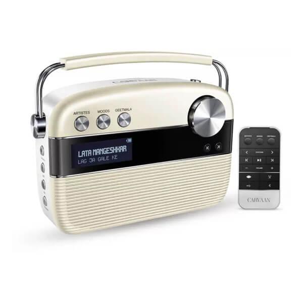 Saregama Carvaan Bluetooth Home Audio Speaker (White)