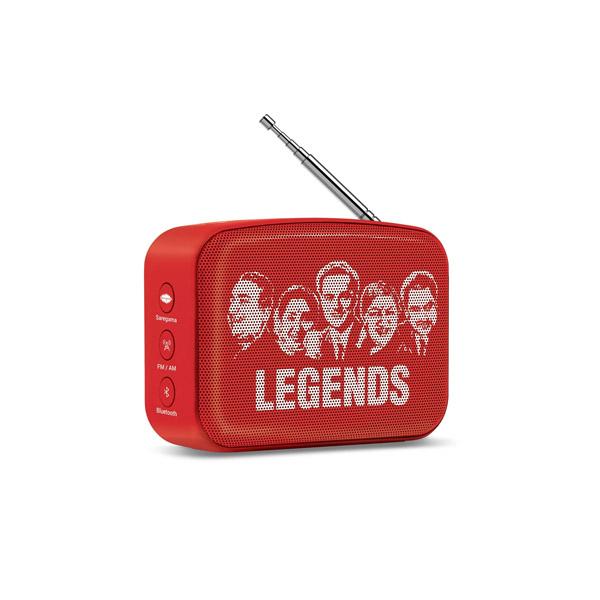 Saregama Carvaan SCM02 Mini 2.0 Bluetooth Speaker (Sunset Red)