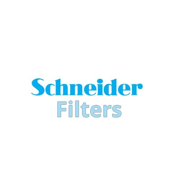 """Schneider 6.6x6.6"""" Black Frost 1/2 Water White Glass Filter"""