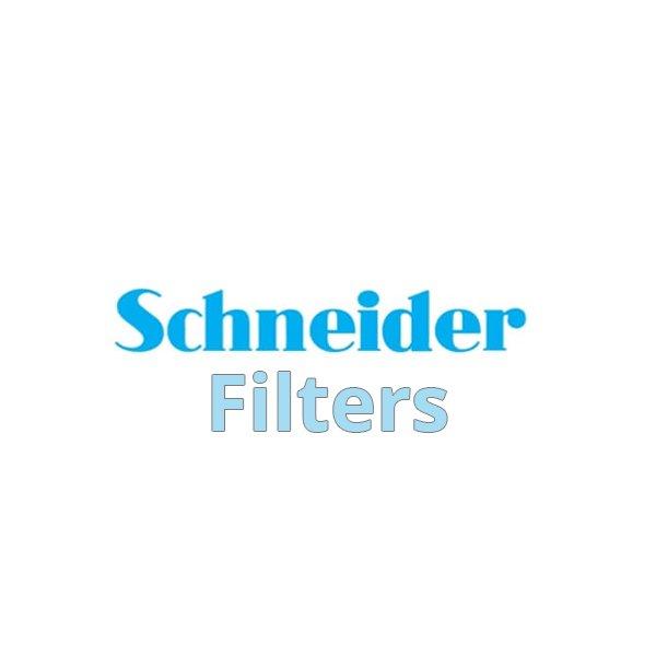 "Schneider 6.6x6.6"" Classic Black Soft 1 Water White Glass Filter"