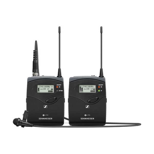 Sennheiser ew 112P G4 Camera-Mount Wireless Microphone System with ME 2-II Lavalier Mic