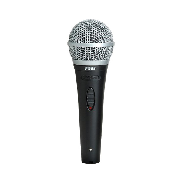 Shure PG58-LC Vocal Dynamic Microphone