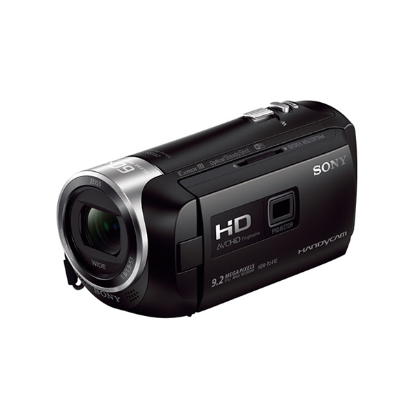 Sony HDR-PJ410/BE HD Handycam with Built-In Projector (PAL)