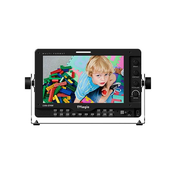 """TVLogic LVM-074W 7"""" Multi-Format HD LCD Monitor"""
