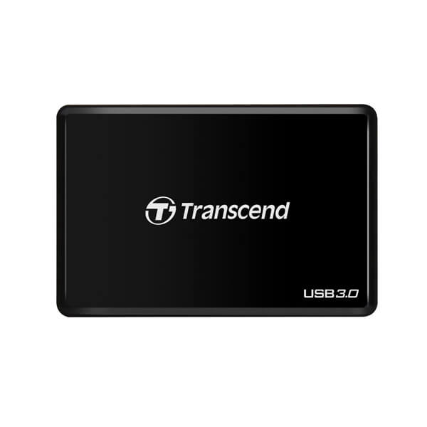 Transcend USB 3.0 Super Speed Multi-Card Reader for SD/SDHC/SDXC/MS/CF Cards