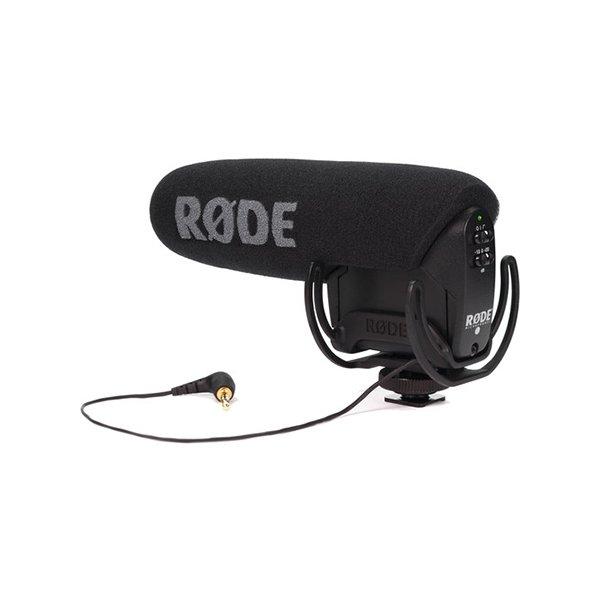 Rode VideoMic Pro with Rycote Lyre Shockmount