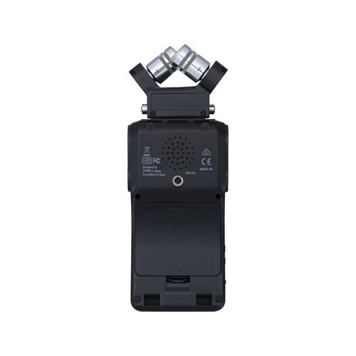 Zoom H6 All Black 6-Input Portable Handy Recorder (Black)