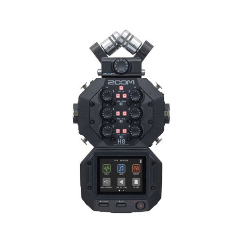 Zoom H8 8-Input Portable Handy Recorder