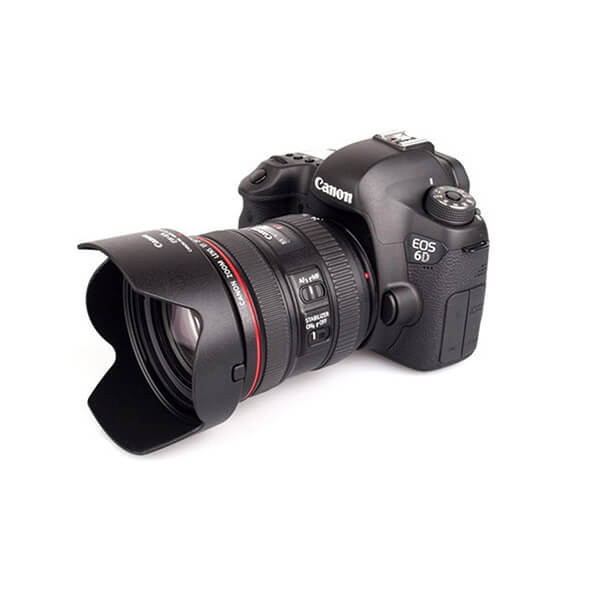 CANON 6D with 24-70 F4 L IS