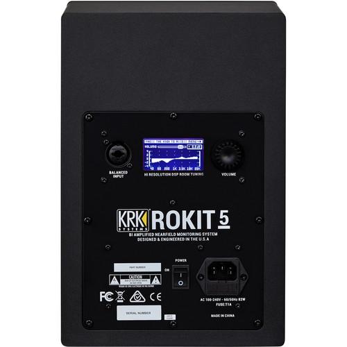 """KRK ROKIT 5 G4 5"""" 2-Way Active Studio Monitor"""
