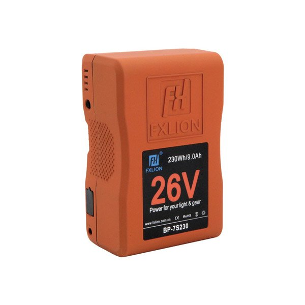 Fxlion BP-7S230 26V Lithium-Ion V-Mount Battery (230Wh)