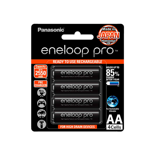 Panasonic Eneloop Pro AA Rechargeable Battery Online Buy Mumbai India 01