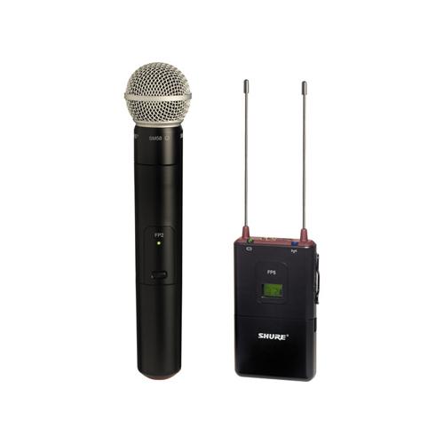 Shure FP25SM58 Handheld Wireless System Online Buy Mumbai India 01