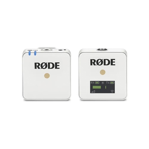 Rode Wireless GO Compact Wireless Microphone System White Online Buy Mumbai India 01