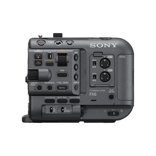 Sony FX6 Full Frame Cinema Camera Body Only Online Buy Mumbai India 02