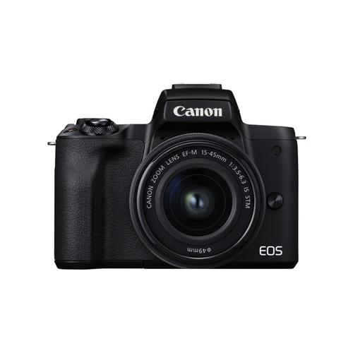 Canon EOS M50 Mark II Mirrorless Digital Camera with 15 45mm Lens Online Buy Mumbai India 1