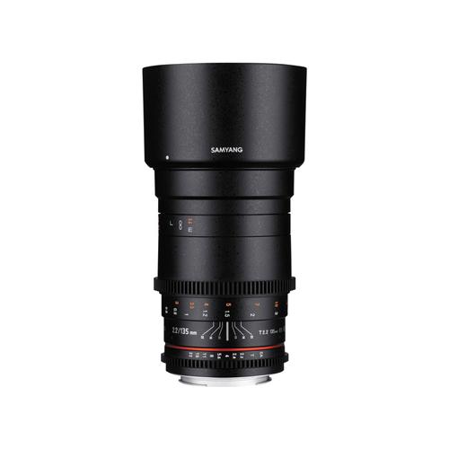 Samyang 135mm T2.2 AS UMC VDSLR II Lens for Canon Online Buy Mumbai India 1