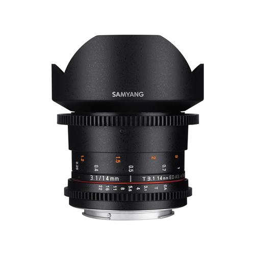 Samyang 14mm T3.1 VDSLRII Cine Lens for Canon Online Buy Mumbai India 1